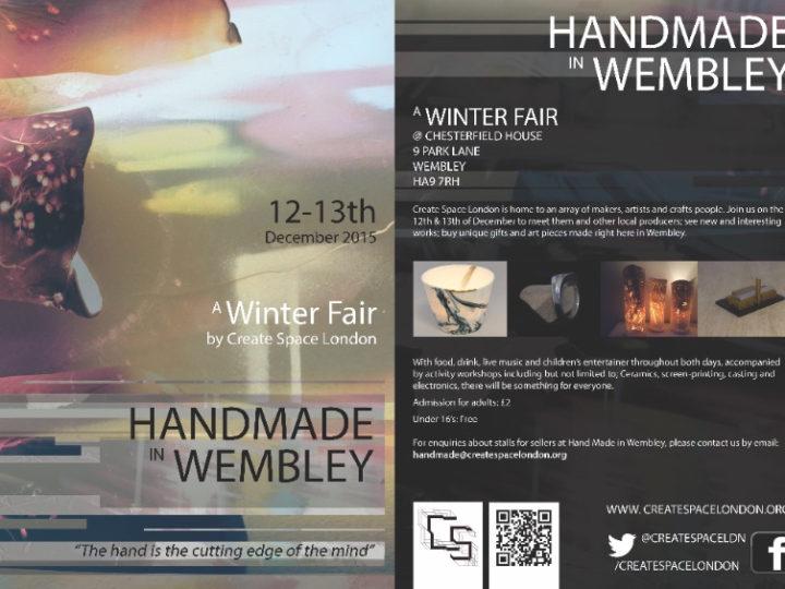 Handmade in Wembley- Christmas Fair