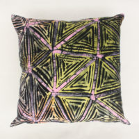 Colourful Batik Cushion