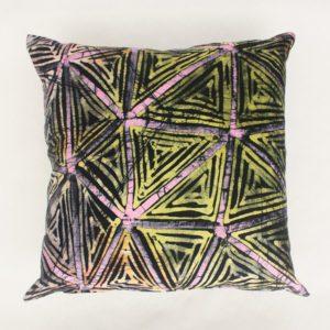 Colourful Batik Cushion
