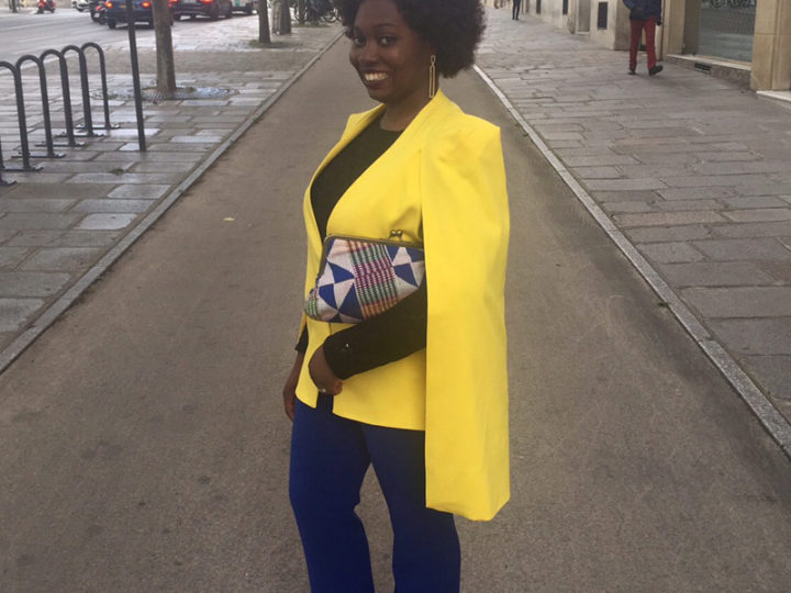 Spotted in Urbanknit- Miss Ivy's Kente Clutch