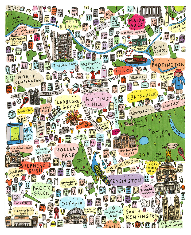 London Map by HouseofCally