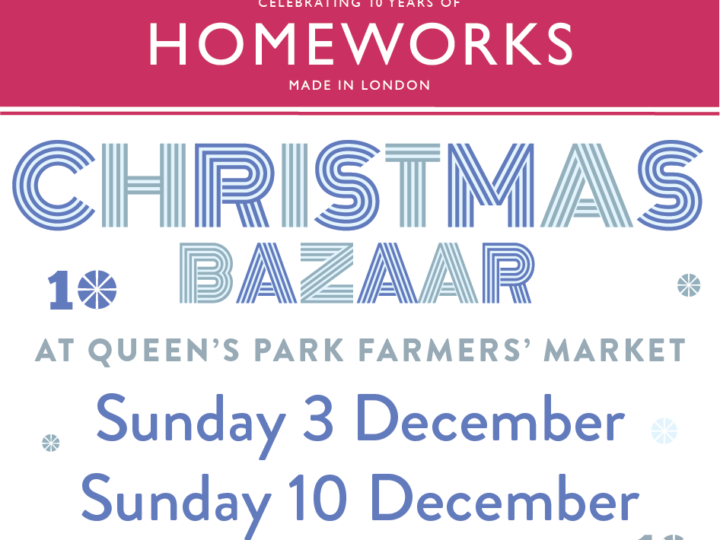 Homeworks Christmas Bazaar- Sunday 10th December, 2017